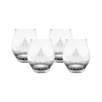 Lalique_100_Points_Crystal_Shot_Glasses,_Set_of_4
