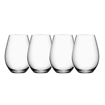 Orrefors More Stemless Wines Set of 4