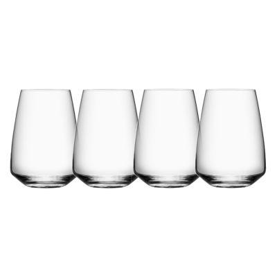 Orrefors Pulse Stemless Wine Set of 4