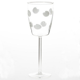 vietri drop wine glass
