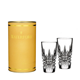 Waterford Lismore Diamond Shot Glasses, Pair