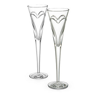 Waterford Romance Achievements Flute Pair