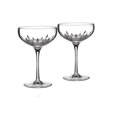 Waterford Lismore Essence Saucer Champagne Pair
