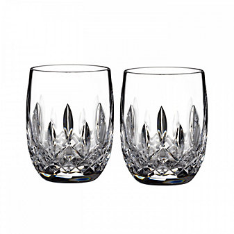 Waterford Lismore 7oz Rounded Tumbler Pair