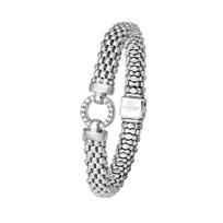 LAGOS Enso Diamond Caviar Bracelet