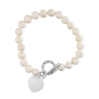 Freshwater Cultured Pearl Toggle Bracelet