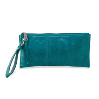 HOBO Vida Teal Green Wristlet