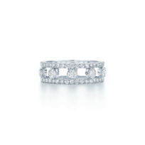 Kwiat 18k White Gold Stackable Diamond Band