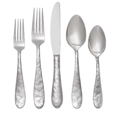 Shop michael aram cast iron stainless steel flatware - Wrought iron silverware ...